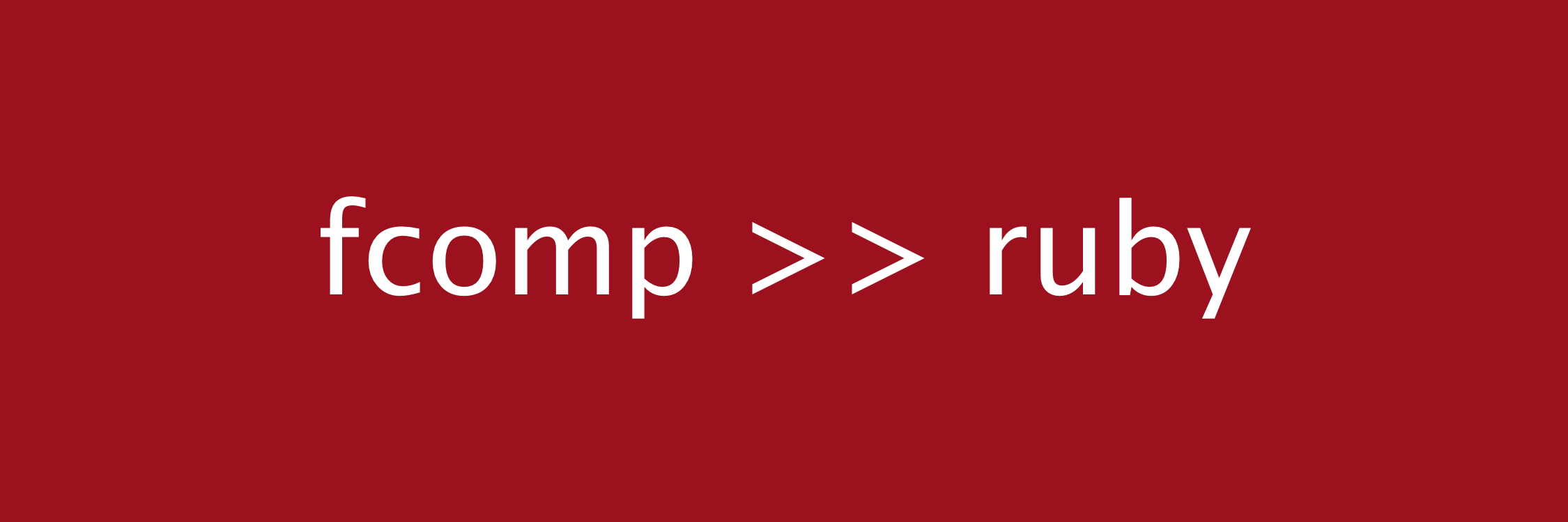 Ruby's new function composition syntax